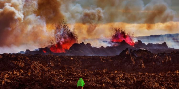 Islandia Volcan