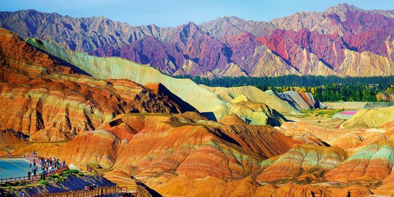 Parque Geológico Zhangye Danxia