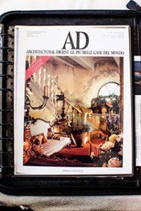 Durante dos décadas, los trabajos de Diane engalanaron las portadas y páginas interiores de Architectural Digest (AD) en veinticuatro ocasiones, publicaciones de referencia en Estados Unidos, Europa y el resto del mundo.
