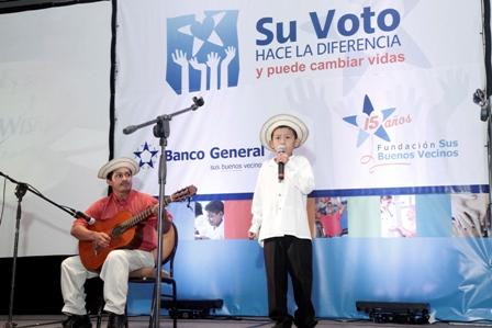 Su Voto Hace la Diferencia es un proyecto en el que los clientes de Banco General votan por sus ONG preferidas para que reciban una donación extraordinaria.