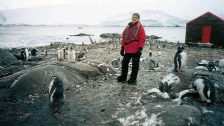 Sofía en la Antártida