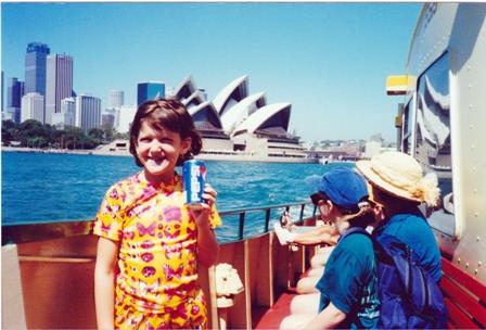 Sofía en Australia