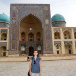 Sofía en Uzbekistan