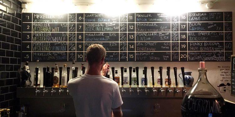 Bar de cervezas