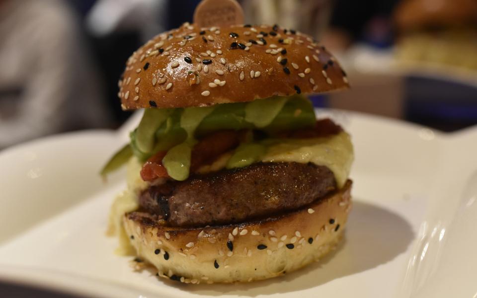 Hamburguesa del famoso chef Gordon Ramsay