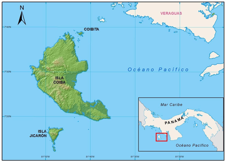 Mapa Coibita 1