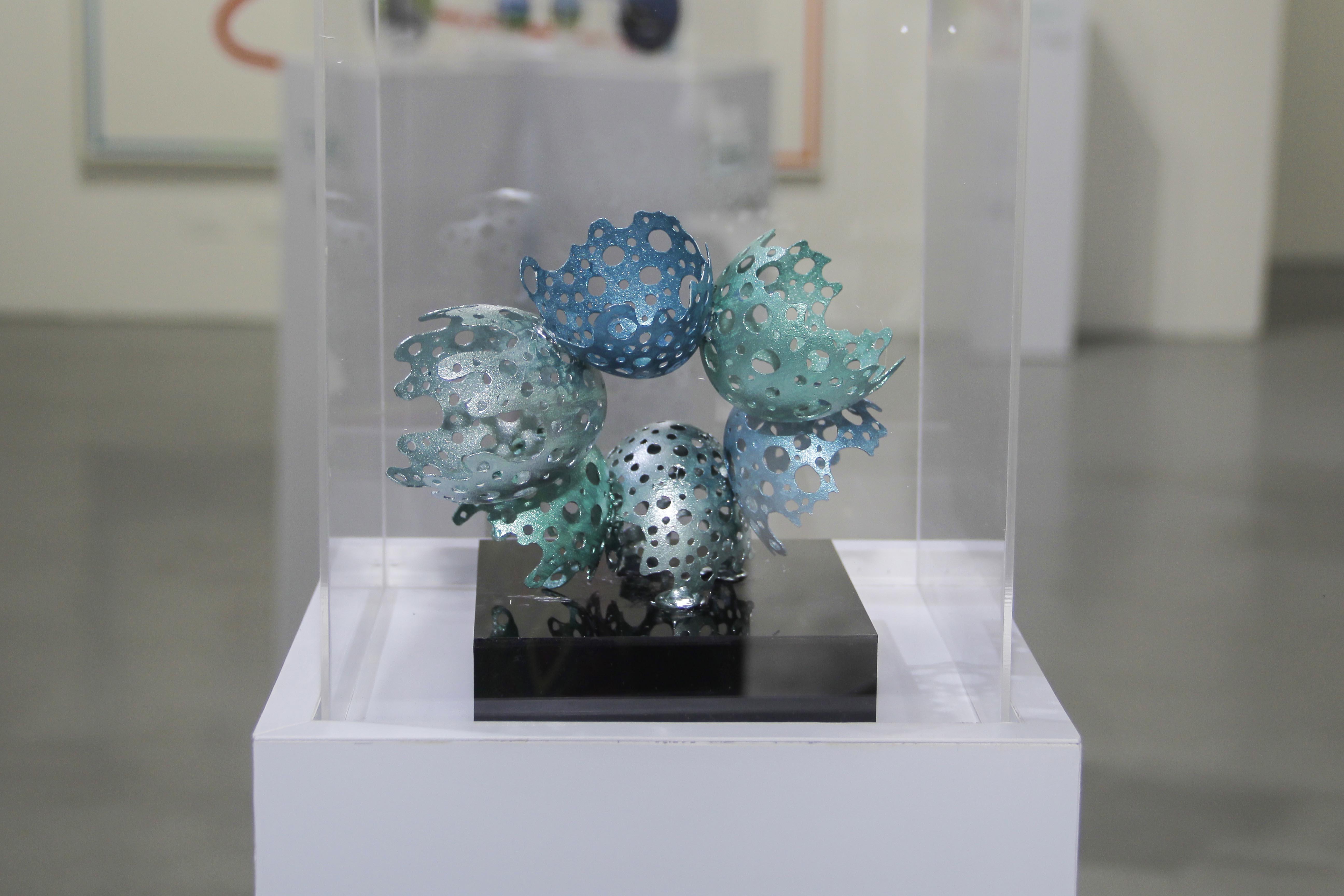 Escultura Con Huevos De Ganso